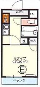 グリーンロードマンション飯田1階Fの間取り画像