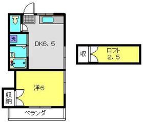 ライブハイム2階Fの間取り画像