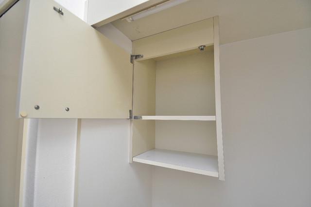 レガーレ布施 コンパクトながら収納スペースもちゃんとありますよ。
