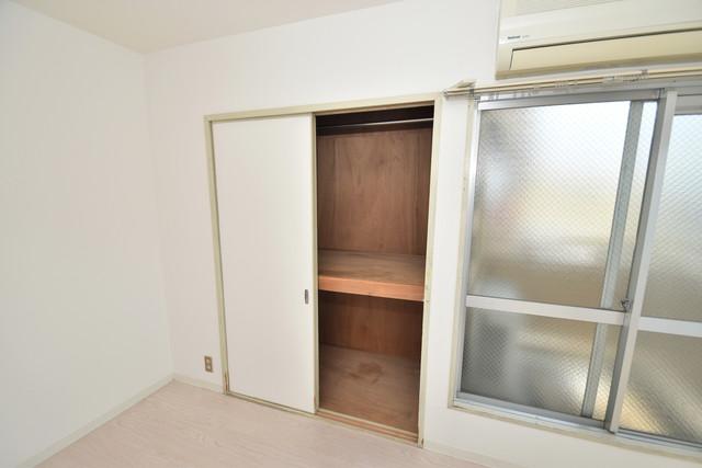 ロイヤルハイツ深江南 もちろん収納スペースも確保。いたれりつくせりのお部屋です。