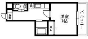 アルペジオ生田6階Fの間取り画像