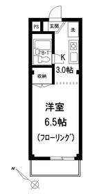 トライアングル211階Fの間取り画像