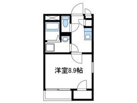 レオネクストクレールウィン1階Fの間取り画像