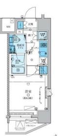 川崎駅 徒歩7分12階Fの間取り画像