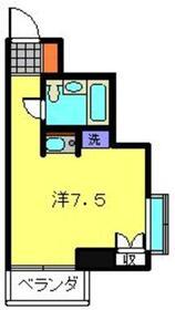 モガハウス5階Fの間取り画像