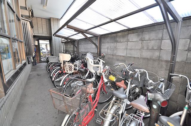 ニッコープラザ平野 敷地内には専用の駐輪スペースもあります。