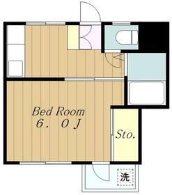 ハイツ・フィオーレ3階Fの間取り画像