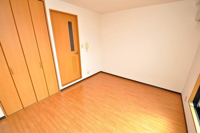 グランミサ公園前 朝には心地よい光が差し込む、このお部屋でお休みください。
