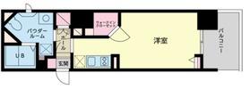 グロースメゾン新横浜8階Fの間取り画像