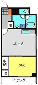 ラポール南太田3階Fの間取り画像