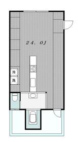 ILCIELO(イルシエロ)5階Fの間取り画像