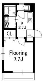 メゾン ラ・メール3階Fの間取り画像