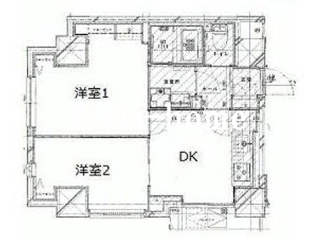 AZURE神田錦町間取図