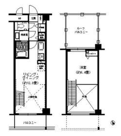 NTPRレジデンス菊名4階Fの間取り画像