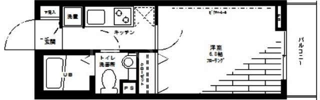ステージグランデ日本橋間取図