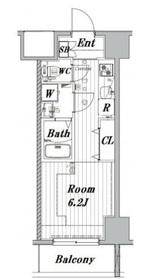 メイクスデザイン川崎5階Fの間取り画像