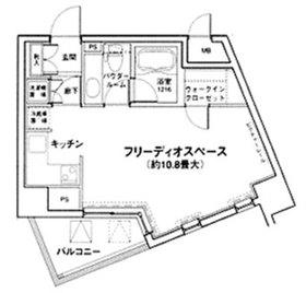 MG目黒駅前8階Fの間取り画像