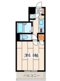アートヒルズ横浜B棟2階Fの間取り画像