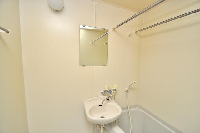 ビクトワール小阪 可愛いいサイズの洗面台ですが、機能性はすごいんですよ。