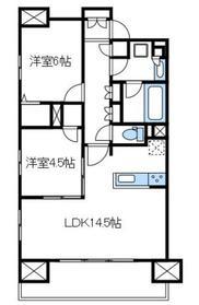 プレシス本厚木パークフロント3階Fの間取り画像