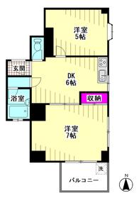 礒部レジデンス part�U 202号室