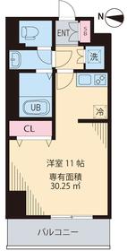 ルアナ亀戸6階Fの間取り画像