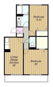 プレガーレA3階Fの間取り画像