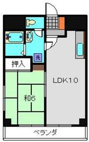 モルゲンロート蒔田2階Fの間取り画像