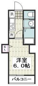 高座渋谷駅 徒歩3分3階Fの間取り画像