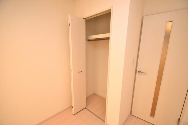 リブリ・布施 もちろん収納スペースも確保。おかげでお部屋の中がスッキリ。