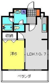 サジタリアス3階Fの間取り画像
