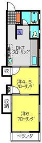 マンションマユミ1階Fの間取り画像