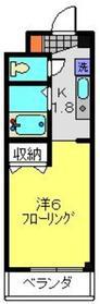 がーでんした・フォレスト2階Fの間取り画像