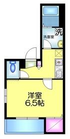 堀越メゾン3階Fの間取り画像