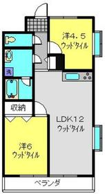 日吉本町駅 徒歩7分3階Fの間取り画像