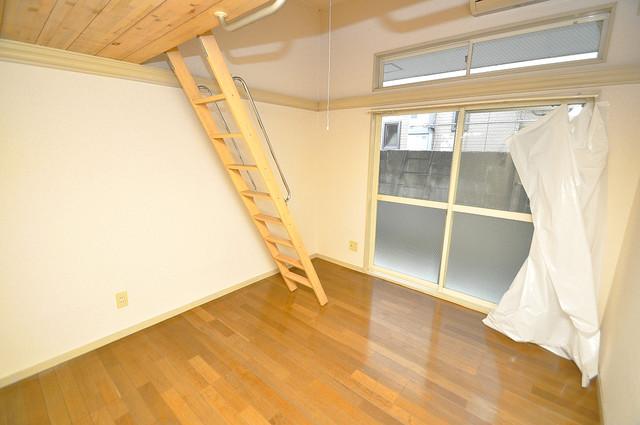 ハウスランド布施 明るいお部屋は風通しも良く、心地よい気分になります。