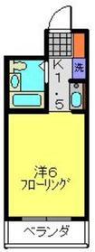 ヨコハマ トラディッショナル ビュー2階Fの間取り画像