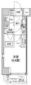アイル横浜ベイサイド3階Fの間取り画像