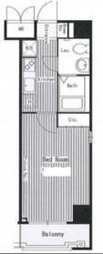 ハイトサーブル川崎4階Fの間取り画像