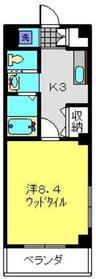 日吉駅 徒歩17分1階Fの間取り画像