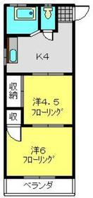 明正マンション3階Fの間取り画像