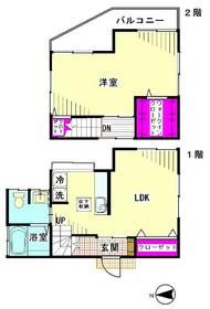 仲六郷43223戸建 1号室