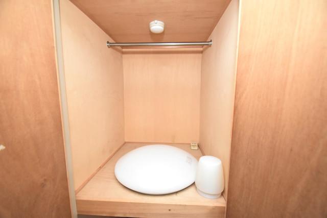 パームスクエア もちろん収納スペースも確保。いたれりつくせりのお部屋です。