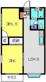 日吉駅 徒歩14分1階Fの間取り画像