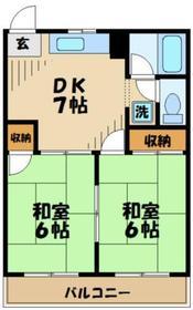 パレアルフヘイム3階Fの間取り画像
