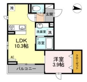 イールエステート3階Fの間取り画像
