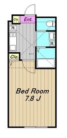 ベルニーニ2階Fの間取り画像