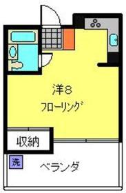 アメニティ高島台1階Fの間取り画像