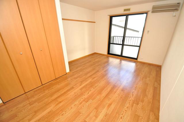 メゾンドゥエスポワール 明るいお部屋はゆったりとしていて、心地よい空間です