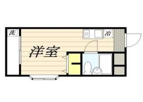 ラ・レジダンス・ド・VIP中野坂上4階Fの間取り画像